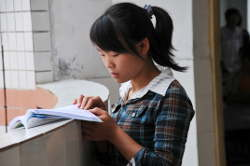 Living Wells With Girl Reading